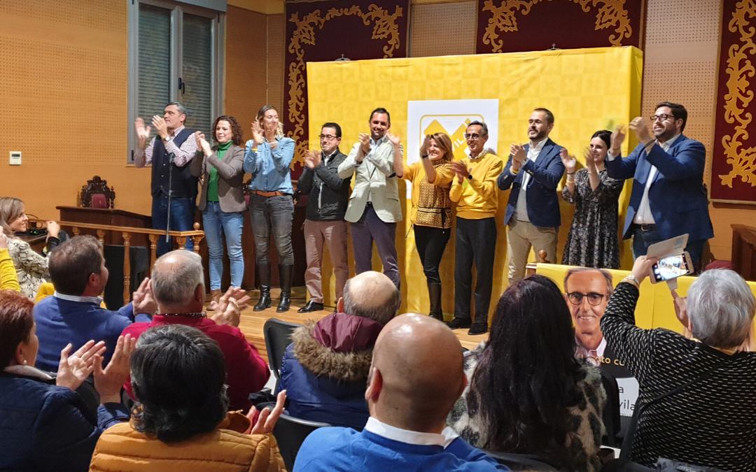 """El voto útil es """"votar a Por Ávila"""" porque """"es el único partido que defiende los intereses de los abulenses"""""""