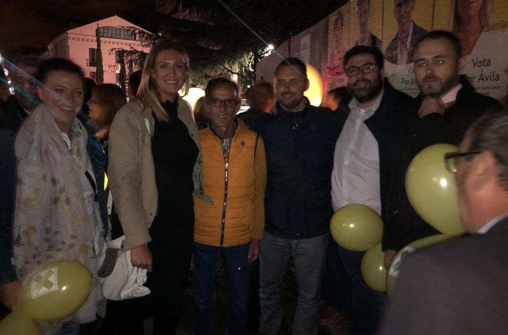 Por Ávila inicia su campaña electoral como única formación que llevará la voz de los abulenses al Congreso y el Senado