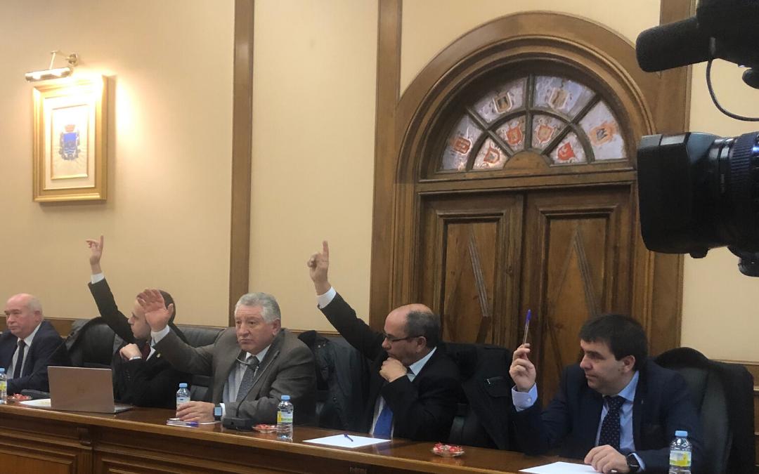 """El voto a favor de Por Ávila en los presupuestos de la Diputación """"no es un cheque en blanco para el equipo de gobierno"""""""