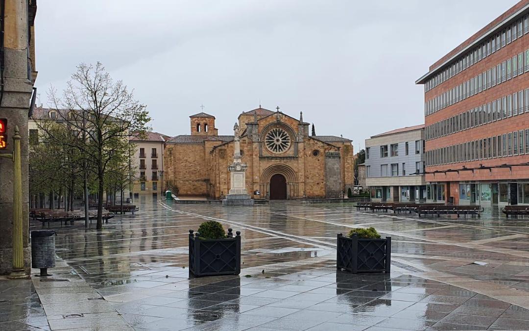 Por Ávila lanza un mensaje de ánimo y de agradecimiento a los abulenses tras un mes del estado de alarma